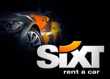 Сайт №2 для SIXT Rent A Car Russia
